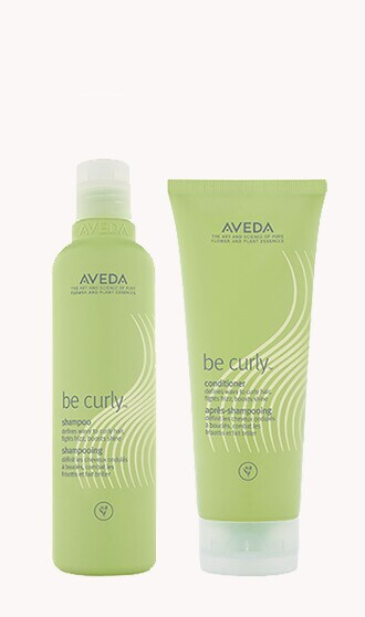 be curly™ shampoo & conditioner set